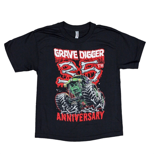 Grave Digger 35th Anniversary Youth Tee