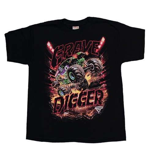 Grave Digger Mayhem Youth Tee