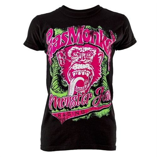 Gas Monkey Garage® Tires Ladies Tee
