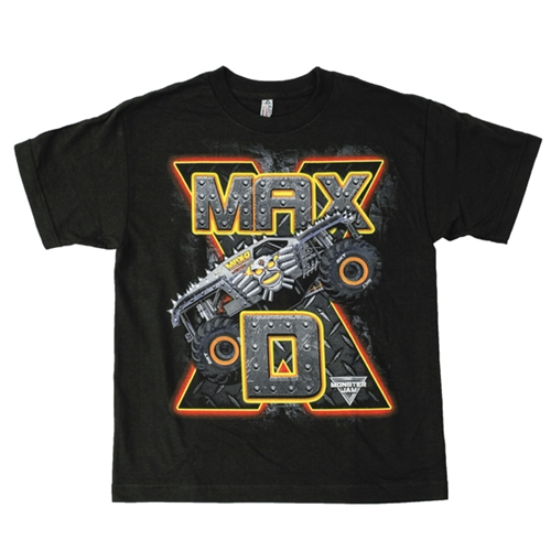 Max-D Black Youth Tee