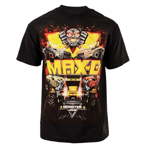 Max-D Fourth Power Tee