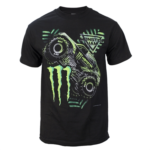 Monster Energy Tonal Black Tee