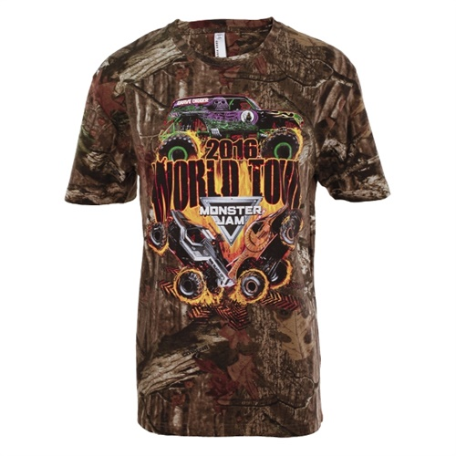 Monster Jam Series 2016 Camo Tee