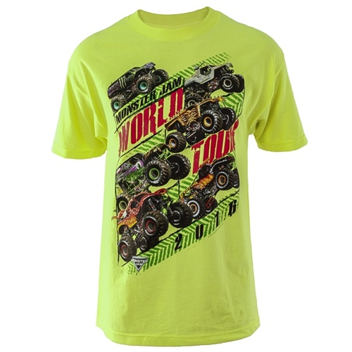 Monster Jam Series 2016 Green Tee