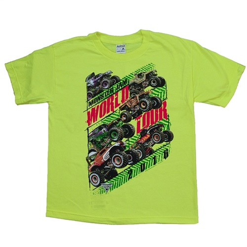 Monster Jam Series 2016 Green Youth Tee