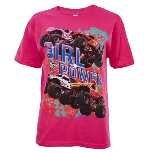 Monster Jam Series 2016 Pink Youth Tee