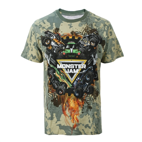 Monster Jam Series 2017 Camo Tee