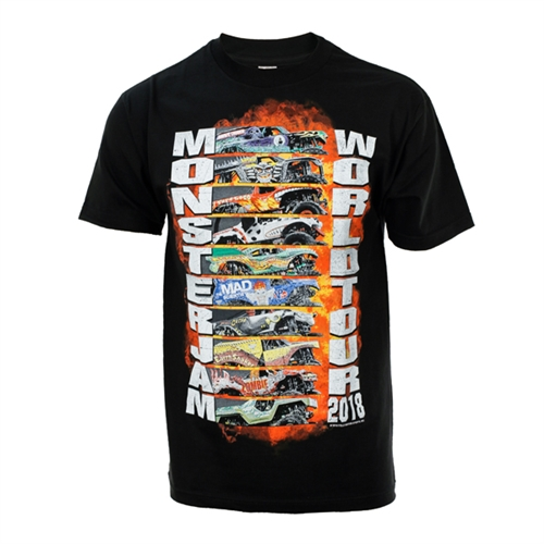 Monster Jam World Tour 2018 Tee
