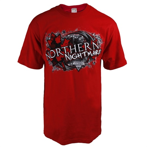 Northern Nightmare Champ Red Tee