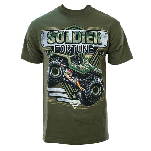 Solider Fortune Green Tee