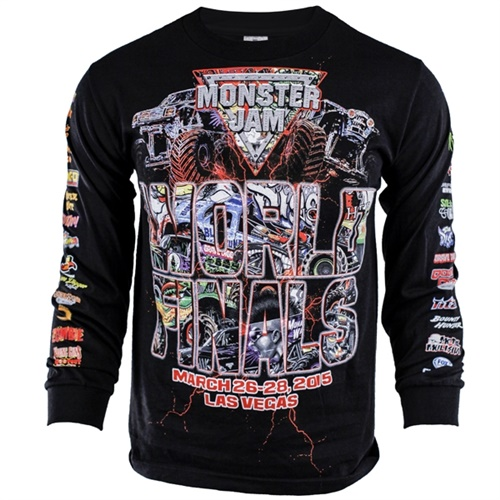 World Finals XVI Black Longsleeve Tee