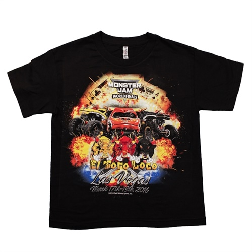 World Finals XVII Team El Toro Loco Youth Black Tee