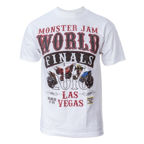 World Finals XVII Gambler White Youth Tee