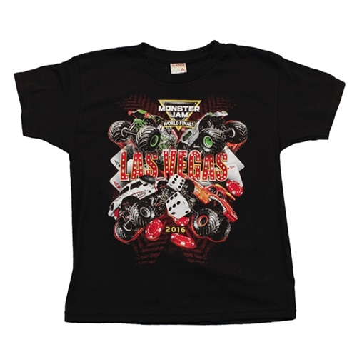 World Finals XVII Headline Black Youth Tee