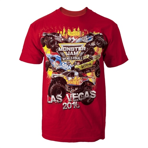 World Finals XVII Skyline Red Youth Tee