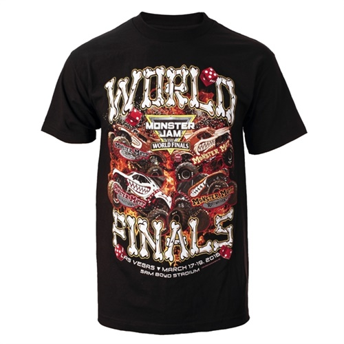 World Finals XVII Team Mutt Black Youth Tee