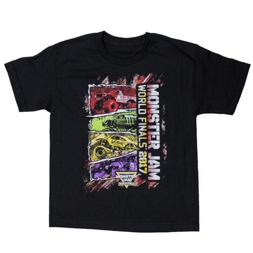 World Finals XVIII Color Block Black Youth Tee
