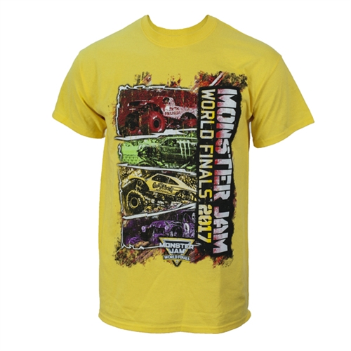 World Finals XVIII Color Block Yellow Tee