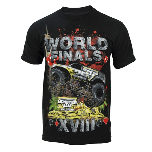 World Finals XVIII Crunch 25th Anniv. Tee