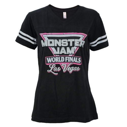 World Finals XVIII Glitter Logo Ladies Tee