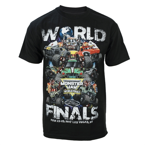 World Finals XVIII Grunge Black Tee