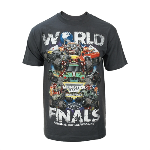 World Finals XVIII Grunge Grey Tee