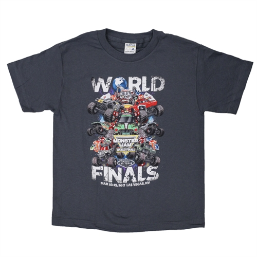 World Finals XVIII Grunge Grey Youth Tee