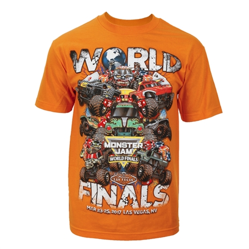 World Finals XVIII Grunge Orange Tee