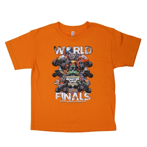 World Finals XVIII Grunge Orange Youth Tee