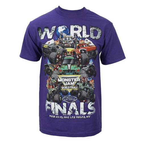 World Finals XVIII Grunge Purple Tee