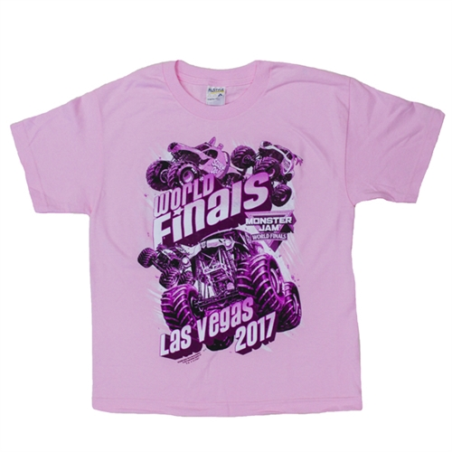 World Finals XVIII Pink Youth Tee