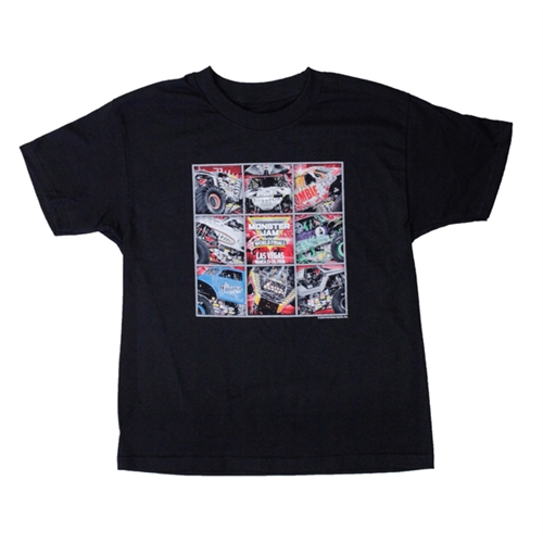 Monster Jam World Finals Block Youth Tee