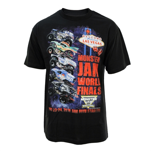 Monster Jam World Finals Wheelie Tee