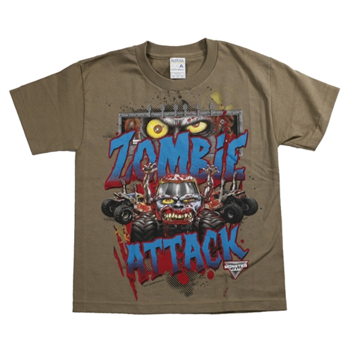 Zombie Attack Youth Tee
