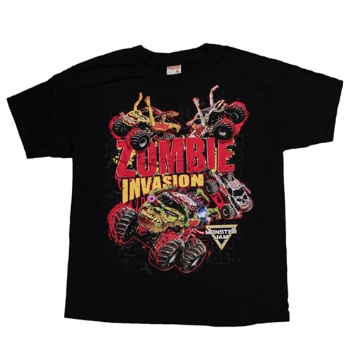Zombie Invasion Youth Tee