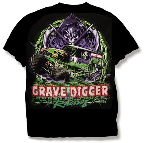 Grave Digger Chain Tee