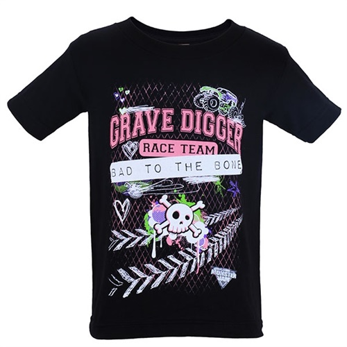 Grave Digger Diary Girl Tee