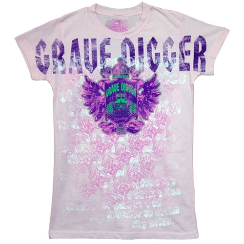 Grave Digger Ladies Gypsey Tee