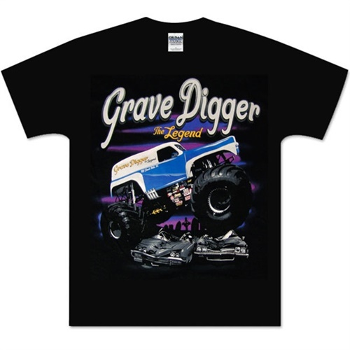 Grave Digger The Legend Youth Tee