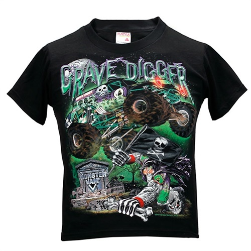 Grave Digger Youth RIP Tee