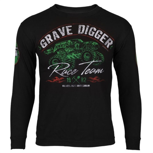 Grave Digger Youth Vintage Tee