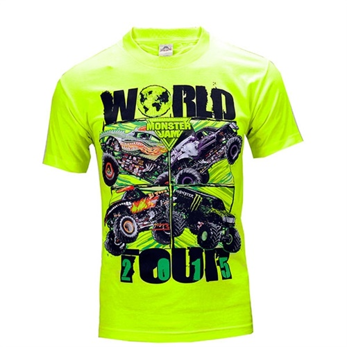 Monster Jam Series Tee - Green
