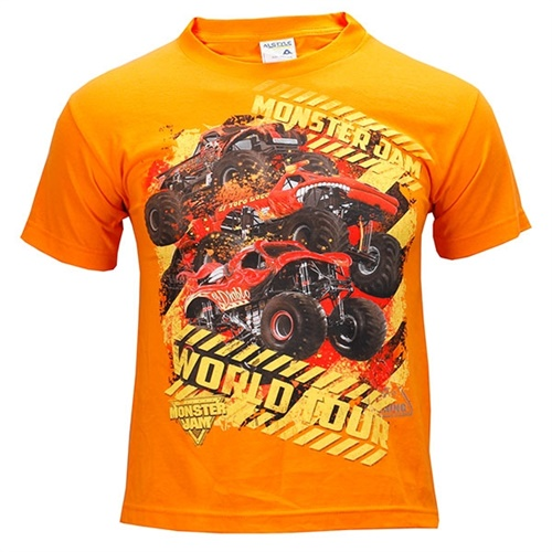 Monster Jam Youth Series Tee - Orange