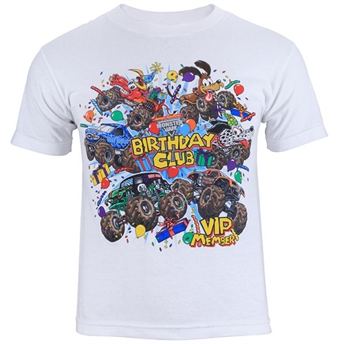 Monster Jam Birthday Club Tee
