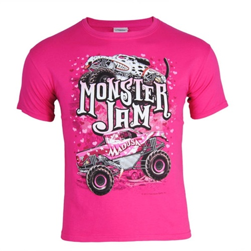 Monster Jam Youth Series Tee - Pink
