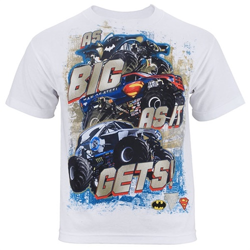 Monster Jam Youth Series Tee - White