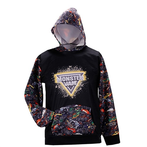 Monster Jam Allover Youth Hoodie