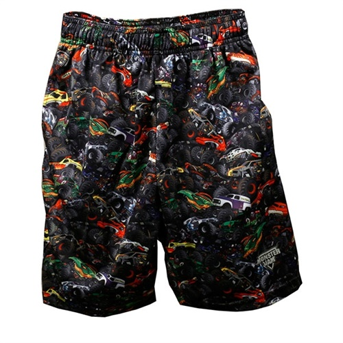 Monster Jam Youth Shorts