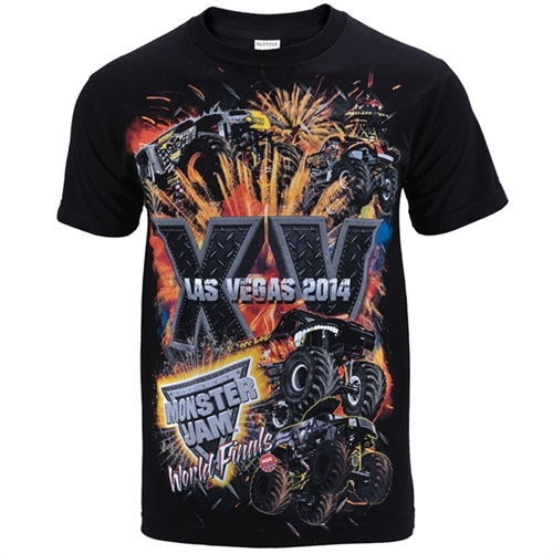 World Finals XV Stackem Black Tee