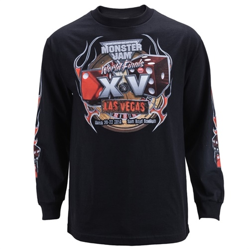 World Finals XV Flames Longsleeve Tee